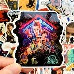 Stranger Things sticker set (50 stuks) - filmspullen.nl