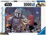 Star Wars: The Mandalorian & Baby Yoda puzzel 1000 stukjes [Ravensburger] - Filmspullen.nl