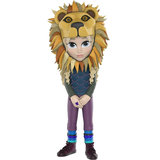 Funko Rock Candy: Luna Lovegood with Lion Head [NYCC Exclusive] - filmspullen.nl