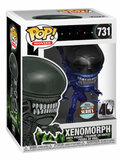 Funko Pop! Alien: Xenomorph 40th Anniversary (Blue Metallic) - Filmspullen