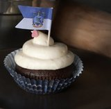 Harry Potter cupcake set met vlaggetjes (96 stuks) - Filmspullen.nl