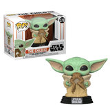 Funko Pop! Star Wars The Mandalorian: The Child (Baby Yoda) with Frog - Filmspullen.nl