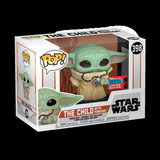 Funko Pop! Star Wars: The Mandalorian - The Child with Pendant [NYCC Exclusive] - filmspullen.nl