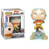 Funko Pop! Avatar: Aang on Airscooter [Chase] [Glow in the Dark] - filmspullen.nl