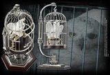 Hedwig replica met kooi - Filmspullen.nl