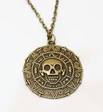 Aztec amulet ketting - Filmspullen.nl