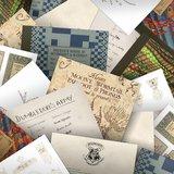 Harry Potter wenskaarten set Hogwarts series - filmspullen.nl