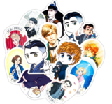 Fantastic Beasts sticker set [50 stuks] - filmspullen.nl
