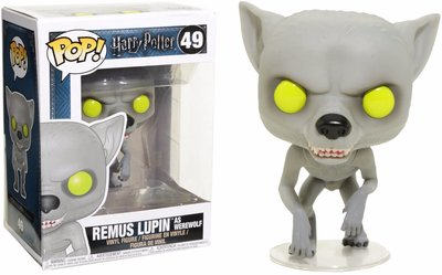 Funko Pop! Harry Potter: Remus Lupin as Werewolf [Exclusive]