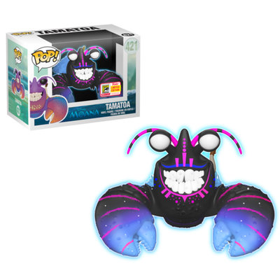 Funko Pop! Moana: Tamatoa [Glow in the Dark] [SDCC Exclusive]