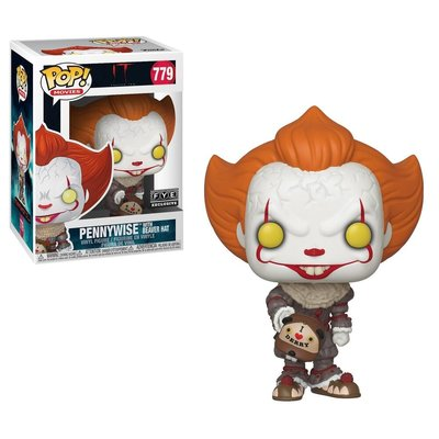 Funko Pop! IT: Chapter 2 - Pennywise with Beaver Hat [Exclusive]