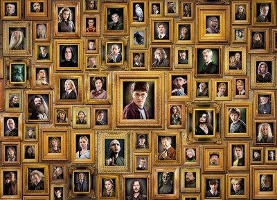 Harry Potter schilderijen puzzel [1000 stukjes]