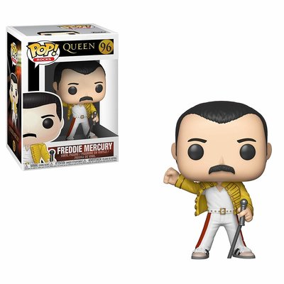 Funko Pop! Rocks: Queen- Freddie Mercury [Wembley 1986]