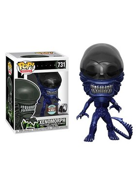 Funko Pop! Alien: Xenomorph 40th Anniversary (Blue Metallic)