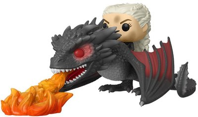 Funko Pop! Rides: Game of Thrones - Daenerys on Fiery Drogon