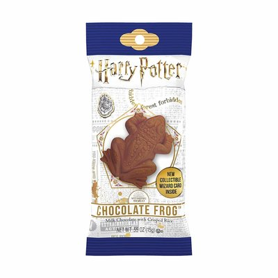 Chocolate Frog met collectible card