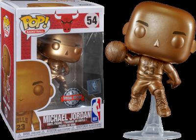 Funko Pop! Michael Jordan [Bronzed] [Exclusive]