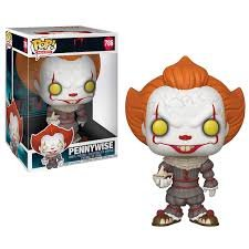 Funko Pop! IT - Pennywise with Boat [10 inch]