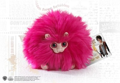 Pygmy Puff knuffel roze [The Noble Collection]
