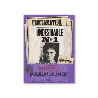 Harry Potter wenskaarten set Ministry of Magic [20 stuks]