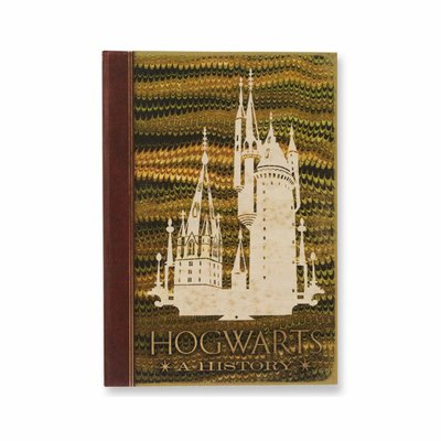 Hogwarts: A History replica notitieboek