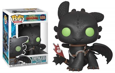 Funko Pop! How to Train Your Dragon 3 - Toothless #686