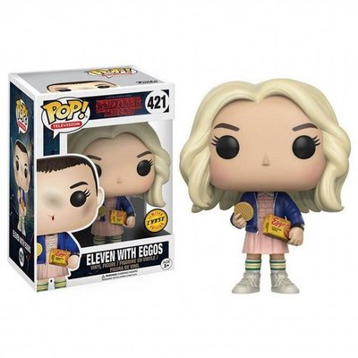 Funko Pop! Stranger Things: Eleven with Eggos [Chase]