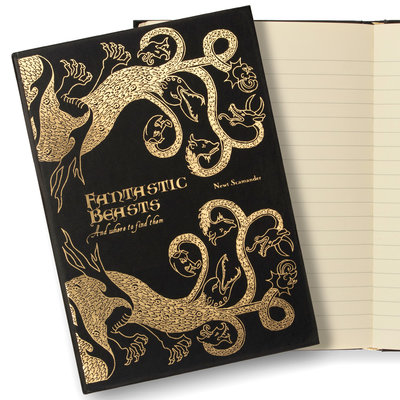 Fantastic Beasts replica notitieboek [MinaLima]