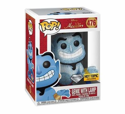 Funko Pop! Aladdin: Genie with Lamp [Glitter] [Hot Topic]
