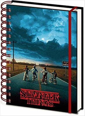 Stranger Things 3D notitieboek Mind Flayer