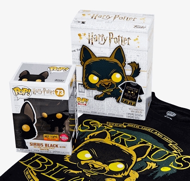 Funko Pop! Box: Harry Potter - Sirius Black as Dog Pop! & T-shirt [Exclusive]