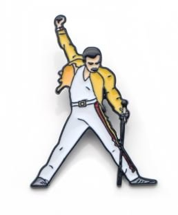 Queen: Freddie Mercury pin/badge