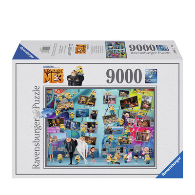 Despicable Me Minions puzzel 9000 stukjes