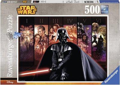 Star Wars saga puzzel [500 stukjes]