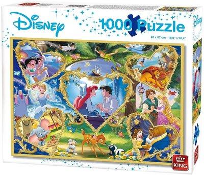 Disney Movie Magic puzzel 1000 stukjes