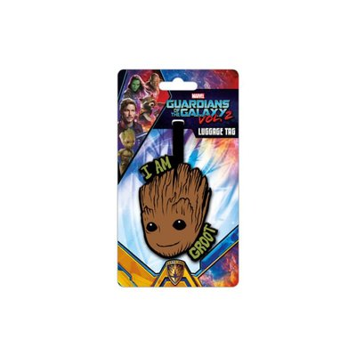 Guardians of the Galaxy: I Am Groot bagagelabel / kofferlabel