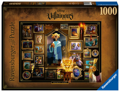 Disney Ravensburger puzzel Villainous Prince John [1000 stukjes]