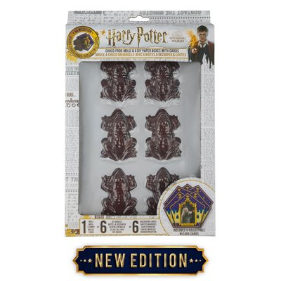 Harry Potter Chocolade Kikker bakvorm met doosjes (Chocolate Frog)
