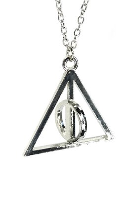 Harry Potter bewegende Deathly Hallows ketting