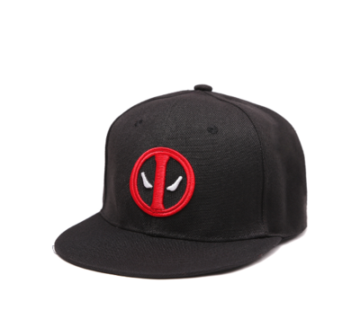 Deadpool snapback pet zwart
