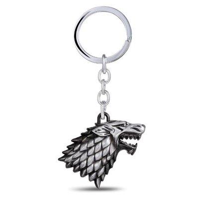 Game of Thrones Stark Winter is Coming sleutelhanger