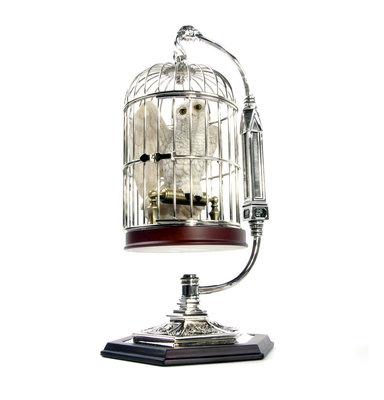 Harry Potter: Hedwig met kooi miniatuur