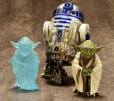 Star Wars ARTFX+ Series R2-D2 & Yoda on Dagobah