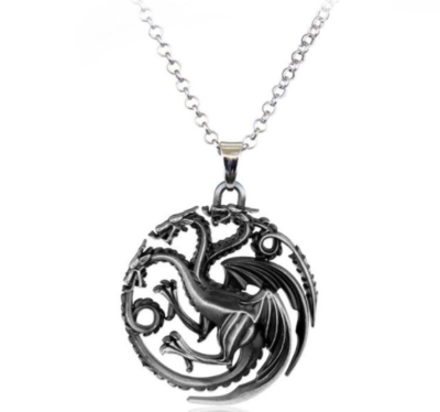 Game of Thrones Targaryen draken ketting