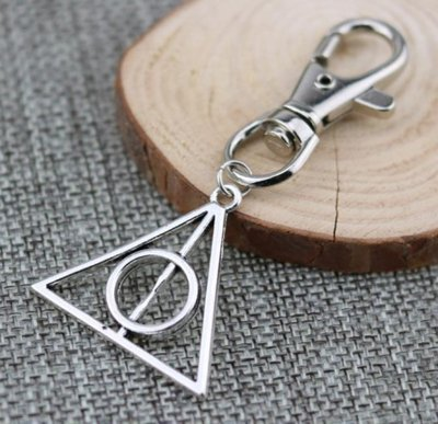 Harry Potter Deathly Hallows sleutelhanger