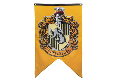 Harry Potter vlag Hufflepuff