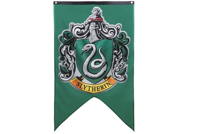 Harry Potter vlag Slytherin
