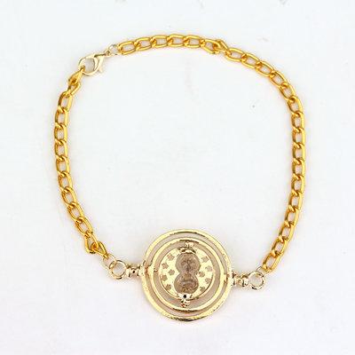 Harry Potter: Tijdverdrijver armband goud