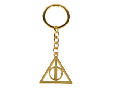 Roterende Deathly Hallows sleutelhanger