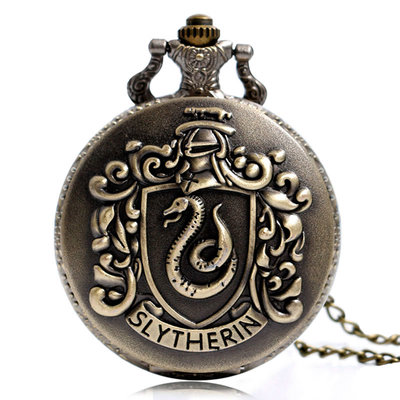 Harry Potter Slytherin horloge ketting